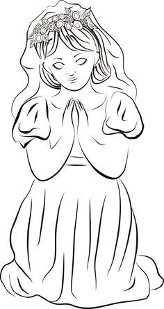 38. Pierwsza Komunia Święta - Dziewczynka II