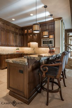Views From This Luxurious Kitchen In Park City Utah By Cameo Homes Inc Home Builders Luxury
