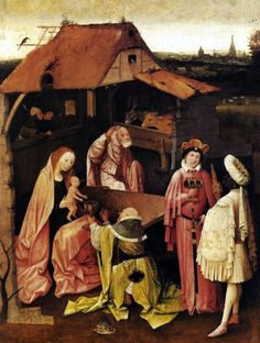 Epiphany 1475 – 1480 – Hieronymus Bosch, Painting, Oil on panel, 74 x 54 cm, Museum of Art, Philadelphia, P.A., United States Of America, ca. 1516, s-Hertogenbosch, Netherlands, School: Dutch, Movements: Northern-Renaissance, Symbolism