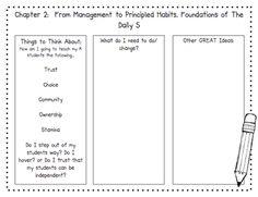 Kindergarten Smiles: KD5 Book Study: Chapter 2