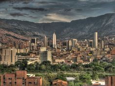 A renaissance through architecture has been unfolding throughout the past several years in Colombia's second largest city – Medellin. Cheapest Places To Live, Best Places To Travel, Places To Visit, Fajardo, Seattle Skyline, Paris Skyline, New York Skyline, Colombia Travel, Travel Dating