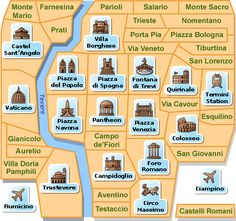 rome map - Google Search