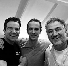 "Nov 14 2015:  @maxbeesley7 -  So lovely to see #jamesdarcy and #metinhussien today. Wonderful boys. I can't believe we shot 'tom jones the history of a foundling for the BBC 18 years ago !!!! #life @MetinHuseyin tweeted: @maxbeesley7 ""18 years and you still can't get my name right!xxx"""