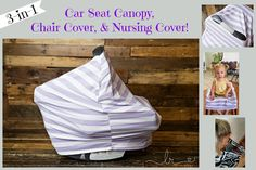 Create Kids Couture: Stretchy Car Seat Canopy, High Chair Cover, and Nursing Cover   3-in-1 Free pattern!