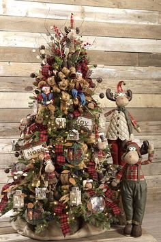 The Christmas Cabin Tree #2 from RAZ for 2016 is a cozy, comforting, warm collection of adorable items to make any home toasty warm.  To see items from this collection along with some other suggested products just click here. Some products will be arriving Summer 2016  http://www.trendytree.com/raz-christmas-and-halloween-decor/2016-christmas-cabin-1.html