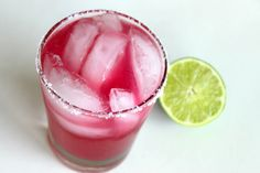 Too bad prickly pear fruits become ripe at the end of summer....prickly pear margaritas