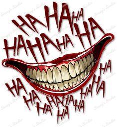 Joker Batman, Joker And Harley, Margot Robbie Harley, Poison Ivy Batman, Sketch Tattoo Design, Tattoo Sketches, Arkham City, Joker Mouth Tattoo, Tattoo Ideas