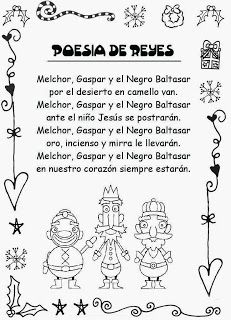 ESOS LOCOS BAJITOS DE INFANTIL: POESÍA DE REYES MAGOS Spanish Christmas, Christmas Hanukkah, Christmas Time, Xmas, Preschool Poems, New Years Activities, Christmas Pageant, Bible Resources, Iron Beads
