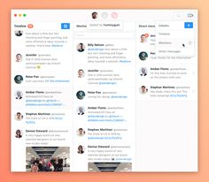 Last Friday we had our monthly creative day @Yummygum and I decided to design my ideal twitter mac app inspired by Tweetbot. I've designed a light and dark theme.