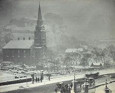 St Cuthbert's Church, Lotian Road - Edinburgh - 1882