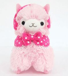 "Llama Earmuffs Alpaca 4.5"" Prime Plush Keychain (Pink) Llama,http://www.amazon.com/dp/B00HNYRT4G/ref=cm_sw_r_pi_dp_L7Lotb1M0DT7FJ3V"