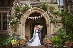 Wedding couple at Jesmond Dene House in Newcastle by 2tone Photography www.2tonephotography.co.uk