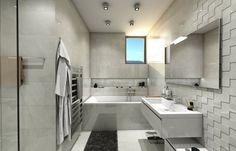Moderná kúpeľňa Home Interior Design, Alcove, Bathtub, Bathroom, Standing Bath, Washroom, Bathtubs, Bath Tube, Full Bath