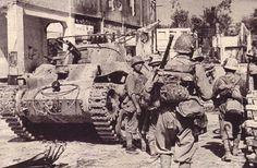 Japanese Type 97 Chi-Ha medium tank in Singapore, 1942