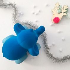 TLPAdventCalendar Door 20 is open! Soft & squishy this little blue is made of natural rubber by @rubbabutoys we love the boldly saturated colors which capture the curiosity of toddlers and the eye of adults when placed on children's shelves as decor