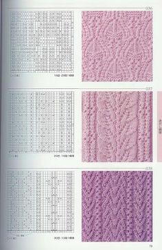 Kira knitting: Knitted pattern no. 58