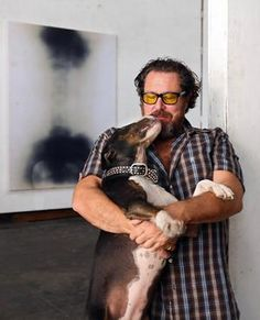 """Julian Schnabel. """"The artist Julian Schnabel is famous—too famous—for possessing such a big ego that he thinks he can do anything. The list of job titles attached to his name—painter, sculptor, furniture designer, filmmaker—keeps getting longer."""" Vanity Fair"""