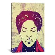 Prince by Giuseppe Cristiano: 26 x 40-Inch Canvas Print