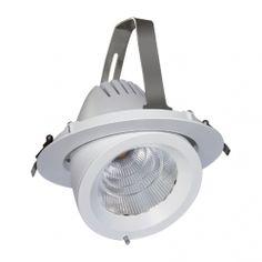 Viva er et godt bud på fremtidens miljørigtige belysning. LED-armaturet er egnet til erstatning af udvalgte metalhalogenlamper med reflektor uden at gå på kompromis med hverken lysstyrke, farvetemperatur eller farvegengivelse.