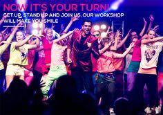Danny`s Bollywood Dance Crew Kokeile uutta ja aloita tanssiharrastus edullisesti! Olemme Danny`s Bollywood Dance Crew (DBDC), televisiosta ja lehdistä tuttu tanssikoulu ja esiintyvä ryhmä! Tarjoamme innostavaa tanssinopetusta ja ryhmäliikuntatunteja kaikenikäisille. Uusi upea tanssistudiomme sijaitsee Tullintorin kauppakeskuksen kolmannessa kerroksessa. #tanssikoulu #bollywood #dance #DBDC #tampere #rakastampere Bollywood, Get Up, Make You Smile, Stand Up, Dance, Concert, Movie Posters, Movies, Dancing