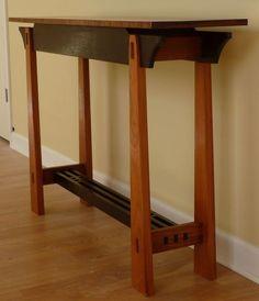 Tall Hall Table