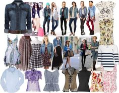 """""""What to Wear with a Denim Jacket"""" by shaley1 on Polyvore"""