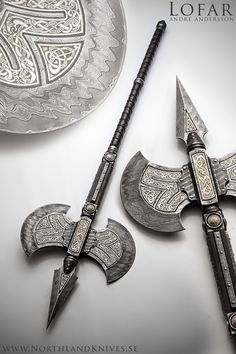 André Andersson Custom Damascus Knives - Knives, Daggers, Swords and Artknives from Sweden.