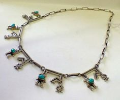Sterling Silver and Turquoise Necklace  $120  Dealer #282  Lula B's  1010 N. Riverfront Blvd. Dallas, TX 75207   Like us on Facebook: https://www.facebook.com/pages/Lula-Bs-Antique-Mall/35282597866