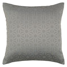Buy Steel John Lewis Starburst Cushion, Steel from our Cushions range at John Lewis & Partners. Cushions Online, White Cushions, Mixed Metals, John Lewis, Home And Garden, Lounge, Bronze, Throw Pillows, Steel