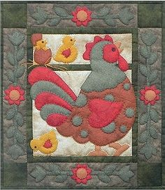 Wendy - Spotty Rooster Decorative Quilt Kit RG/QK0412