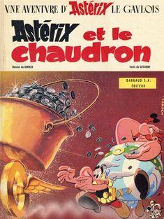 Astérix et le chaudron / texte de René Goscinny ; dessins d'Albert Uderzo