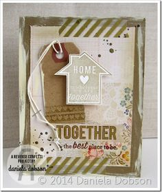 Reverse Confetti | Keywords: Go Together [Just Because, Thinking of You Card]