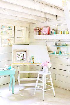 My own little art studio