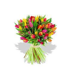 ¿Has pensado en utilizar tulipanes para tu ramo de novia?