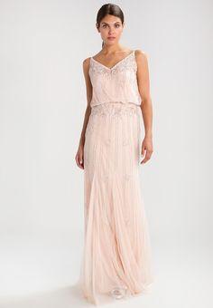 2389e7e5aa84 KEEVA MAXI - Ballkleid - nude. Lace   Beads ...