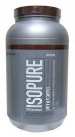 Nature's Best IsoPure Protein Powder with Coffee