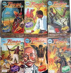Mexico Comic: Fuego y Lo mejor de Fuego
