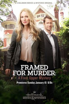 Watch Hallmark Channel's Movies & Mysteries Framed for Murder: A Fixer Upper Mystery starring Jewel and Colin Ferguson Sunday, Jan. 15th 9pm/8c! AD #Sleuthers