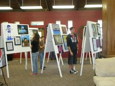 children's art classes booth at a school fair - Yahoo Search Results Yahoo Image Search Results School Fair, High School Art, Middle School Art, School Exhibition, Exhibition Display, Exhibition Ideas, Kids Art Class, Art For Kids, Visual And Performing Arts
