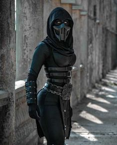 Tagged with cosplay, mortal kombat, video games, costume, curves are sexy; Noob Saibot - [ Just Yeliz ]