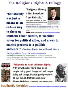 "God's Political Party: ""Christianity was just a means to an end—a way to shore up southern honor culture, to mobilize voters for political allies, and a way to market products to a gullible audience. Psalm 14, Bible Belt, Thomas Paine, Tax Free, Political Party, Atheism, Christians, Blame, Spinning Top"