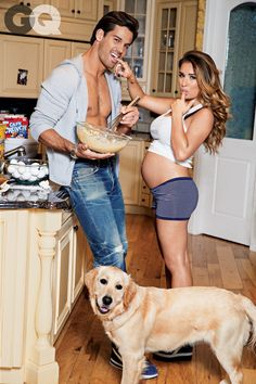 Eric Decker, Jesse James, GQ Mr. Decker is gorgeous but Jesse James is also gorgeous!!!