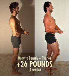 Thanos Bony to Beastly Transformation