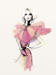 Who is that girl? Find out on gresso.tumblr.com #fashion #pink #dress