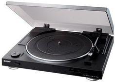 Skivspelare med USB-utgång, Sony PS-LX300USB