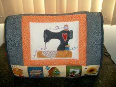 Como fazer uma capa para máquina de costura em patchwork!