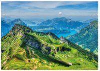 Puzzle Uri, Švýcarsko 3000 dílků Golf Courses, Puzzle, Puzzles, Puzzle Games, Riddles