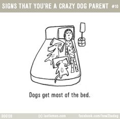 11 Adorable Illustrations You'll Relate To If You Are A Crazy Dog Parent<br> All Dogs, I Love Dogs, Puppy Love, Cute Dogs, Dogs And Puppies, Doggies, Yorky, Crazy Dog Lady, Dog Rules