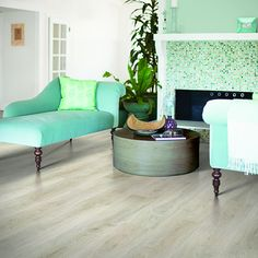 Shop Pergo MAX Premier 7.48-in W x 4.52-ft L San Marco Oak Embossed Laminate Wood Planks at Lowes.com