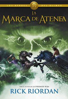 """LA MARCA DE ATENEA (Los héroes del Olimpo 3) - RICK RIORDAN <a href=""""http://www.quelibroleo.com/la-marca-de-atenea-los-heroes-del-olimpo-3#criticas"""" rel=""""nofollow"""" target=""""_blank"""">www.quelibroleo.c...</a>"""